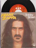 "FRANK ZAPPA - Bobby Brown -Original 1979 German 2-trk 7"" vinyl single-pic.sleeve"