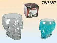 BICCHIERE BIRRA TESCHIO IN VETRO idee regalo bicchiere vetro 024 78-7887