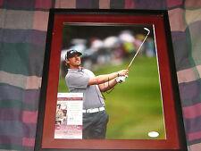 Hunter Mahan PGA Golf Signed 11x14 Framed Photo JSA I58514