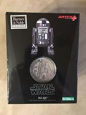 Star Wars Exclusive R2-Q2 ArtFX  Kotobukiya Statue with Coin VHTF/NEW