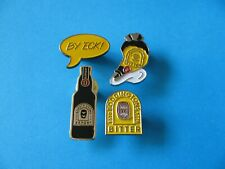 More details for 4, boddingtons beer brewery pin badges. vgc. unused. boddington's