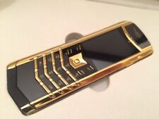 Vertu K7 Signature Design - Golden/Black(Unlocked) Cellular Phone