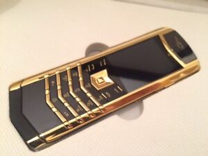 Vertu K7 Signature Design-Golden/Black(Unlocked) Cellular Phone Christmas Offer