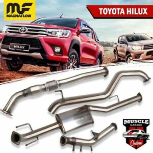 2016-2020 TOYOTA Hilux 2.8L Magnaflow Turbo-Back Exhaust System