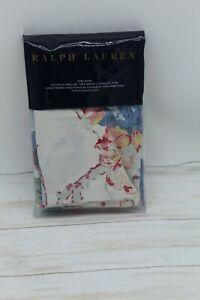 Ralph Lauren Home Veronique Estelle Floral Cotton KING Pillow Sham Blue $145