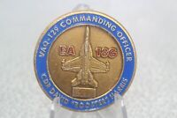 """CDR David """"Rooster""""Harris VAQ-129 Commanding Officer EA 18G Challenge Coin"""
