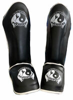 Kids Shin Guard Pads MMA Leg Foot Guards Muay Thai Kick Boxing MMA Pads Training
