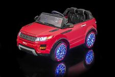 SPORTrax Cosmic Kids Ride on SUV w/FREE MP3 Player - Red