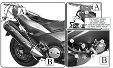 Telaietti Laterali GIVI T2013 per Borse Morbide Yamaha T-Max TMax T Max 530 2014