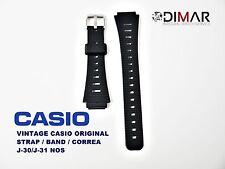 VINTAGE CASIO ORIGINAL STRAP/BAND/CORREA J-30 / J-31 NOS