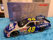 Jimmie Johnson 2003 1/24 #48 Lowe's Monte Carlo Action