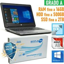 "PC Notebook HP Probook 655 G1 AMD A8 15,6 "" Windows 10 Profi AMD Radeon"