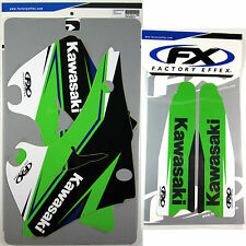 Factory Effex EVO 14 Graphics Forks Kawasaki KX125 KX250 KX 125 250 2003 03 NEW