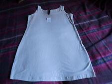 Grey long tunic top size 18