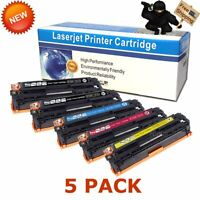 5pk CF210A Toner Compatible for HP 131A LaserJet Pro 200 Color MFP M276nw M251nw