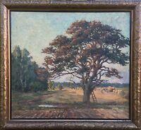 """Gertrud Berger 1876 - 1950 Toys Harvest Landscape """"Reprove Greifswald Pommern"""