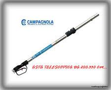 """Asta Telescopica T3 """"Campagnola"""" in Alluminio 200-330Cm-Con Impugnatura-1.70Kg.."""