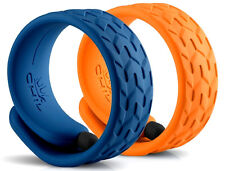 CHIL Slap Stylus Fashion Bracelet 2 Pack Orange and Blue Touch Screen Pen