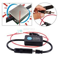 Car Antenna Signal Amp Amplifier Booster Radio FM(88-108MHz)
