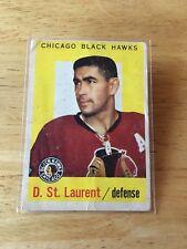 Topps hockey 1959-60 Dollard St. Laurent Chicago Blackhawks card # 43