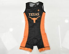 Medium Women's Texas Triathlon Hincapie Sleeveless Tri Suit Black/Orang CLOSEOUT