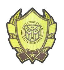 "Transformers Iron-On Patch 3 1/2"" x 3 3/4"" Licensed PCH-TFP0143 Free Shipping"