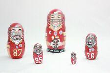 Kansas City Chiefs Mahomes Super Bowl LIV Winner NFL Nesting Doll
