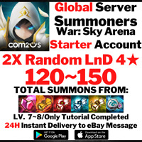 [Global] [Instant] 120-150 Summons 2X LnD 4 Summoners War Starter Account