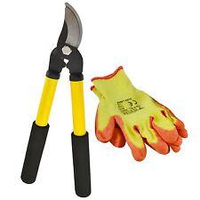 Jeu d'outils taille-haie Cisaille coupe-Élagueurs Sécateurs Gants protection