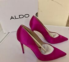 ALDO ALEANI LADIES HIGH HEEL SHOES UK SIZE 5 PINK NEW BOXED HEELS WOMAN PARTY