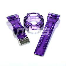 G-SHOCK GA/GD100/110 Band and Bezel Jelly Ice Custom Purple