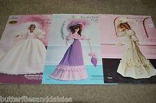 Paradise Crochet Collection Costume Dresses Vol 4,5,6 1895 suit, 1903 promenade