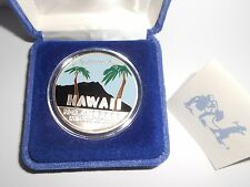Hawaii .999 fine silver 1oz. E Komo Mai 2005 National Guard Conference Coin