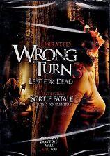 NEW  DVD // HORROR // Wrong Turn 3: Left for Dead // Tamer Hassan, Gil Kolirin,