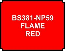 SPRAY CAN FLAME RED HEAT RESISTANT PAINT BRAKE CALIPER ENGINE Proof car HOT