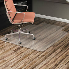 """Alera Non-Studded Chair Mat for Hard Floor 36"""" x 48"""" with Lip Clear MAT3648HFL"""