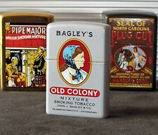ZIPPO LIGHTER Bagley's - Tobacco Tin Series-Limited 75 only made * MEGA RAR *