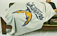 "✔️Brand New Gray NFL San Diego Chargers Sweatshirt Throw Blanket 50"" X 60"""