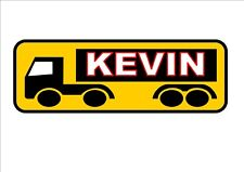 Personalised Truckers Sign Truck Drivers Sign Lorry Sign Kitchen Sign Metal Sign