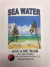 NEW AGE BOTANICA PRODUCTS GENUINE SEA WATER 4 FL OZ ( AGUA DE MAR)