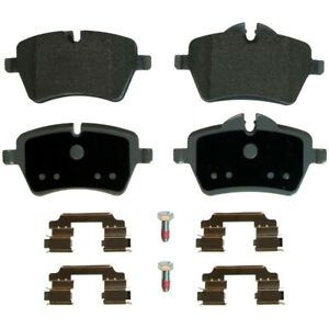 Disc Brake Pad Set-ThermoQuiet Disc Brake Pad Front Wagner MX1204