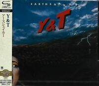 Y & T EARTHSHAKER 2011 JAPAN RMST SHM CD DAVE MENIKETTI  BRAND NEW/OUT OF PRINT!