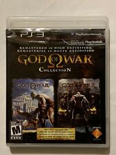 God Of War Remastered HD Collection, Playstation 3, PS3, Complete, Disc Is Mint