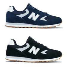Mens New Balance 393 Lace up Cushioned Trainers in Black, and Navy Blue