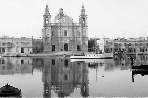Malta Churches. World War 2 photographs