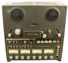 """Teac Tascam 22-4 7"""" Reel to Reel Tape Recorder Deck 4 Track Made in Japan"""