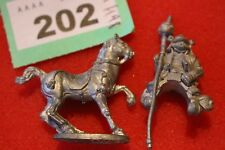 Samurai on Horse Mounted Wargames Fantasy Dungeons Classic Metal Figures ADD B3