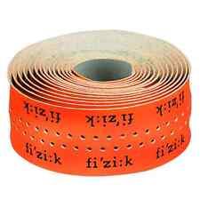 Fizik Superlight Glossy Logo 2mm Road Bicycle Handlebar Tape - Fluo Orange