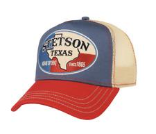 Casquette Stetson Trucker Cap Texas Western bleu rouge homme, femme