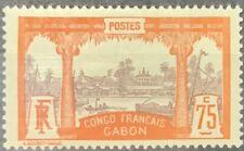 Gabon #45 MH CV$130.00 Libreville [YT45]